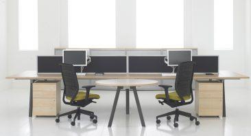 Core four desk configuration