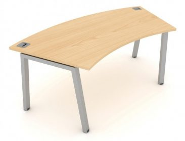 Linnea curved desk