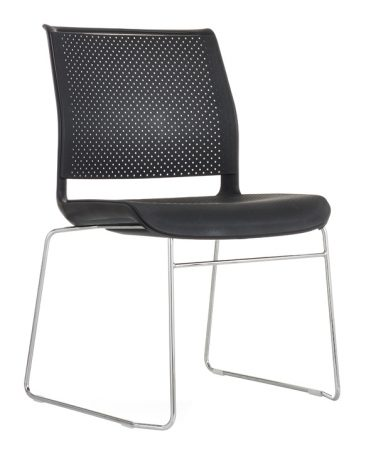 Ad Lib wire frame perforated seat and back
