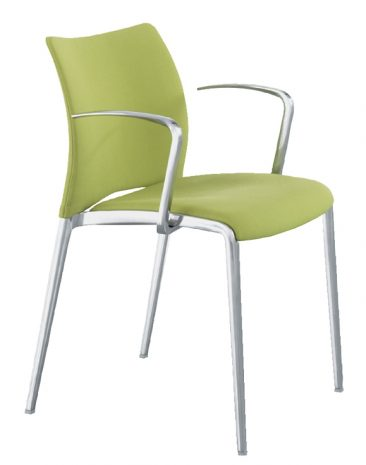 Aura fully upholstered armchair