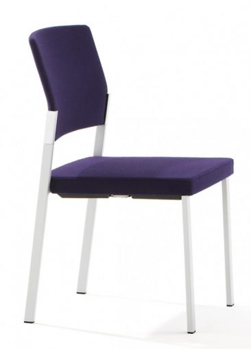 Zenith side chair fully upholstered