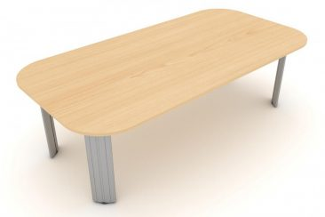 Kassini soft rectangle meeting table