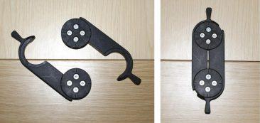 Modular table linking bracket