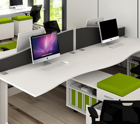 Desking solutions at Eclipse