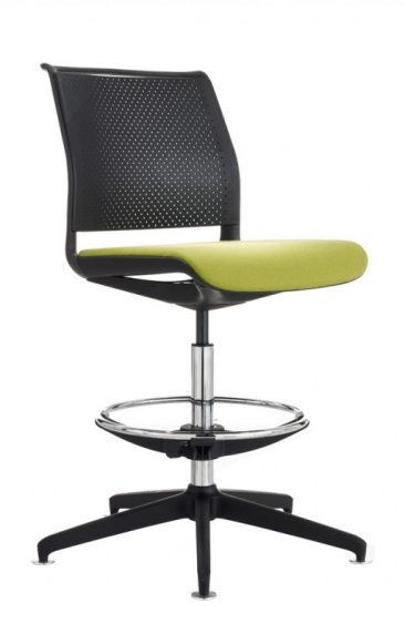 Ad Lib draughtsman chair with moulded back