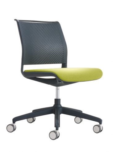 Ad Lib office chair moulded back