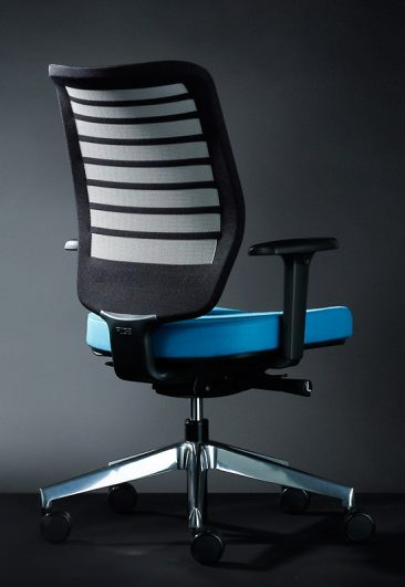 Fuse office chair with black mesh back