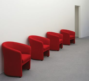 Barolo armchairs in fabric upholstery