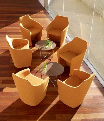 Venus chairs in situ