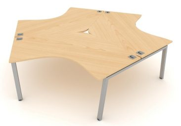 Linnea 120 degree desks