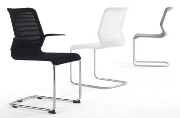 Fuse armchair and side chair
