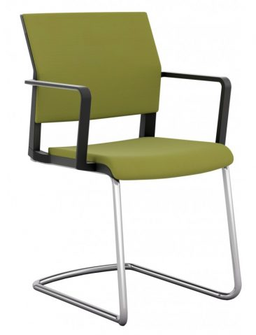 I-Sit cantilever fully upholstered