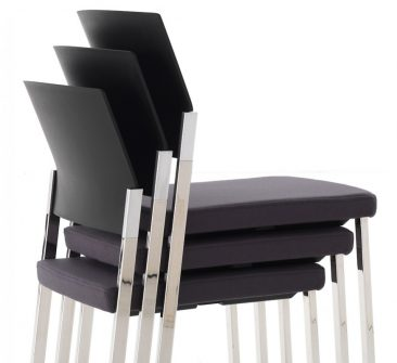 Zenith side chair stacked