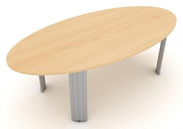 Kassini eliptical meeting table