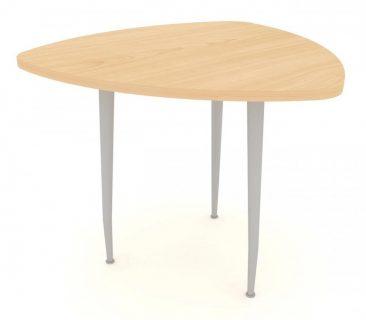 Modular soft traingle meeting table