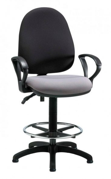 Team draughtsman chair with arms