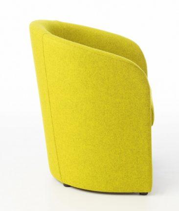 Carlo armchair profile