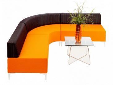 Evo curved corner configuration