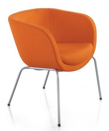 Karma chair with four legs