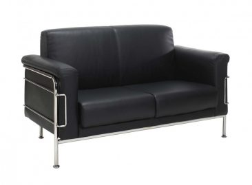 Napoloi sofa upholstered in leather