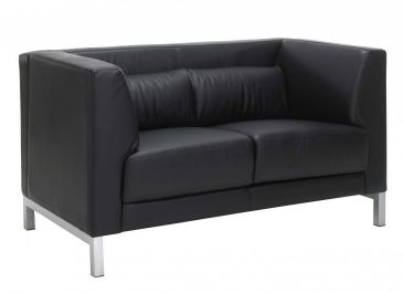 Rimini sofa in leather upholstery